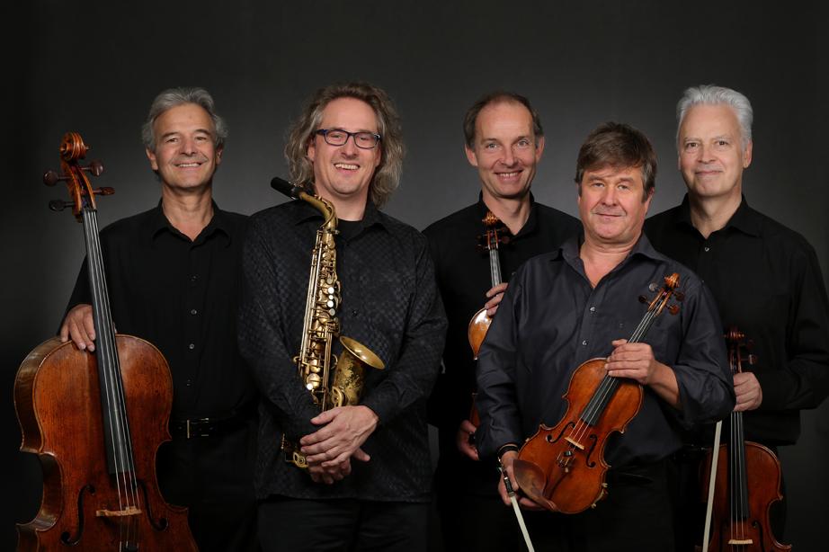 Roger Hanschel & Auryn Quartett, Presse&CD-Coverfotos Infos unter: www.rogerhanschel.de www.aurynquartet.com