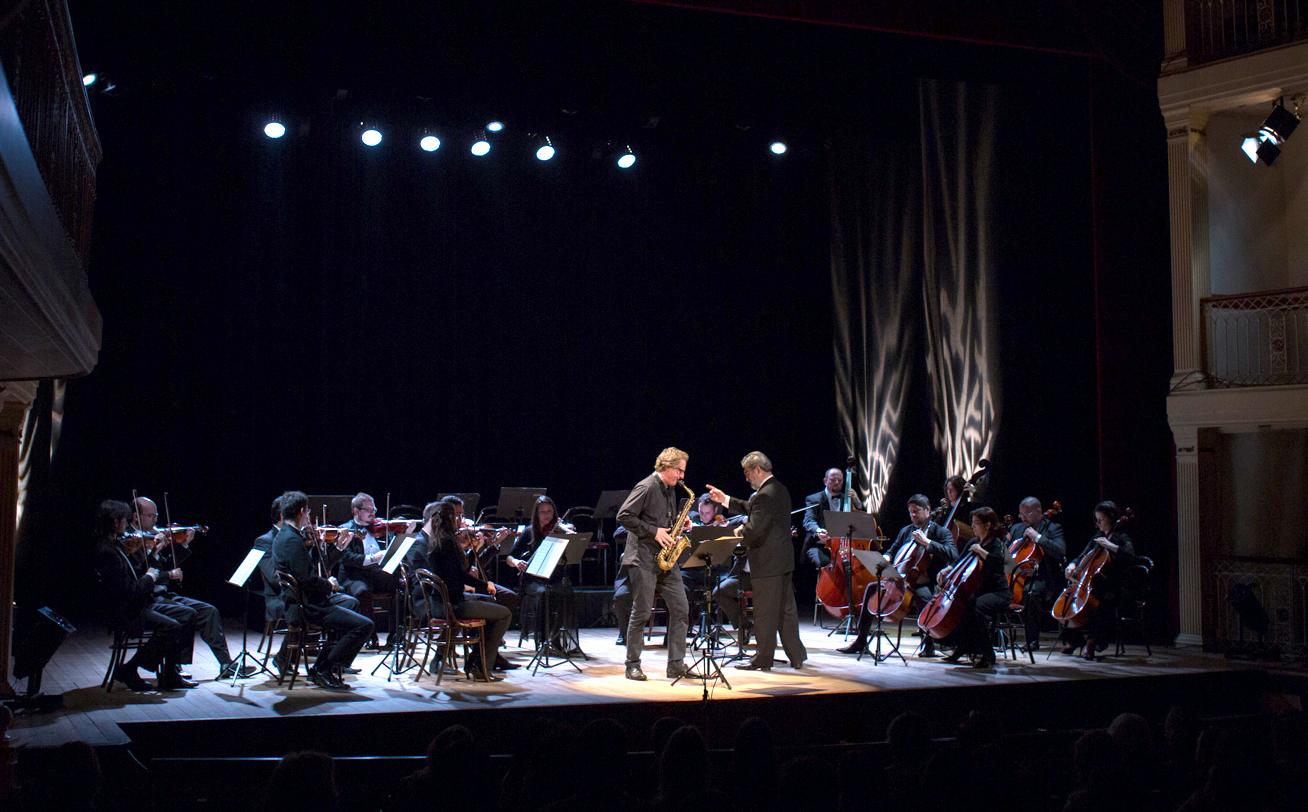 Orchester ganz