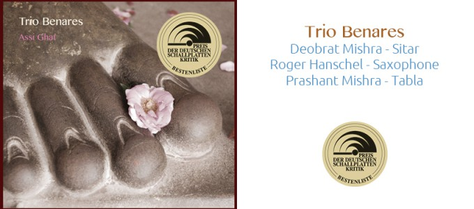 Trio Benares Cover + Preislogo mit Band